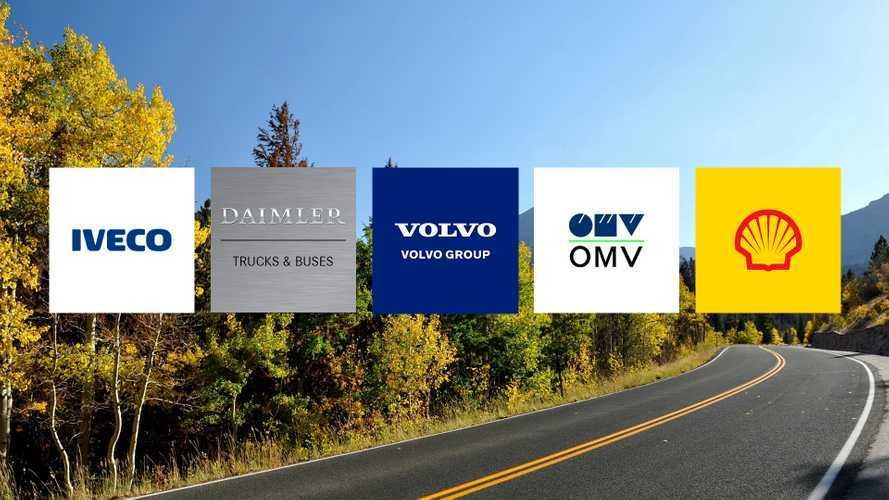 Iveco, Daimler, Volvo Group, OMV e Shell inseme per l'idrogeno