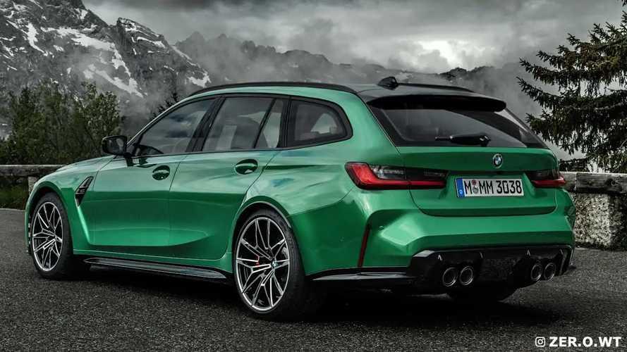 BMW M3 Touring 2022, nuevo render