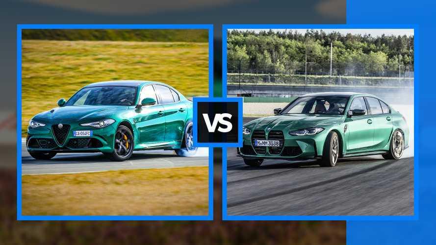 BMW M3 vs Alfa Romeo Giulia Quadrifoglio - Le match !