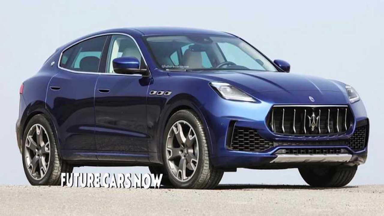 Maserati Grecale Rendering