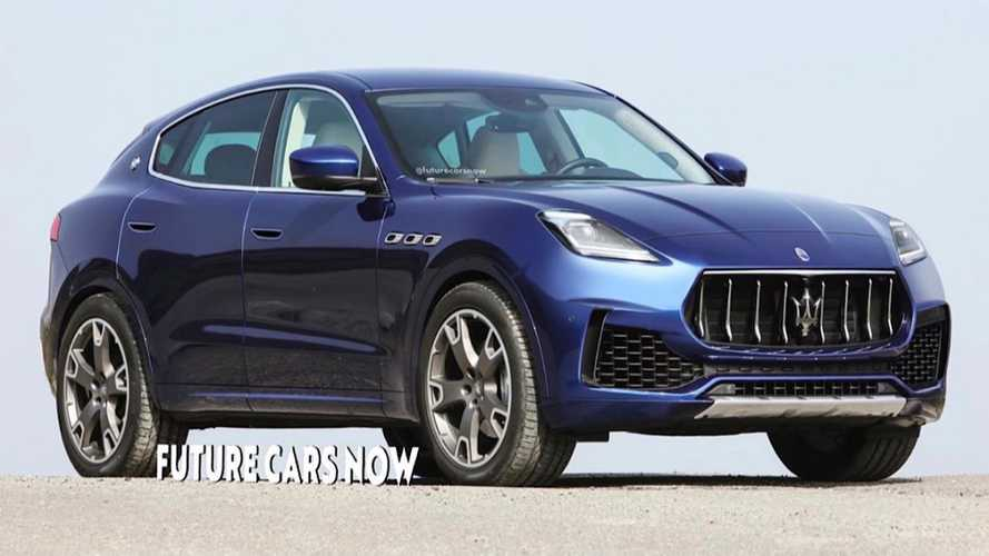 Maserati Grecale Fan Rendering Previews Sleek New Luxury Crossover