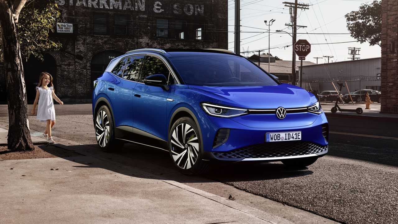 Volkswagen ID.4 (2020), экстерьер