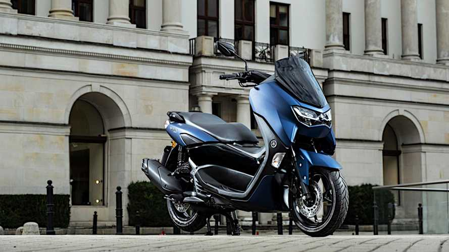 2021 Yamaha NMAX 125 And D'elight Scooters Launched In Europe