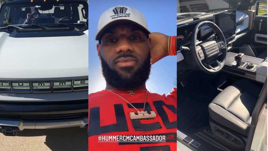 Let LeBron James Show You Around The GMC Hummer EV Edition 1