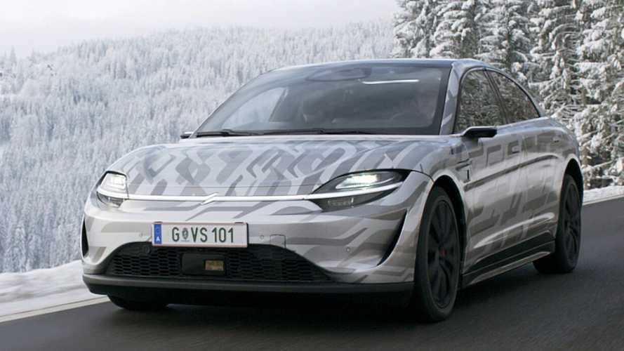 Sony Sheds More Light On Vision-S, Begins Testing It On Austrian Public Roads