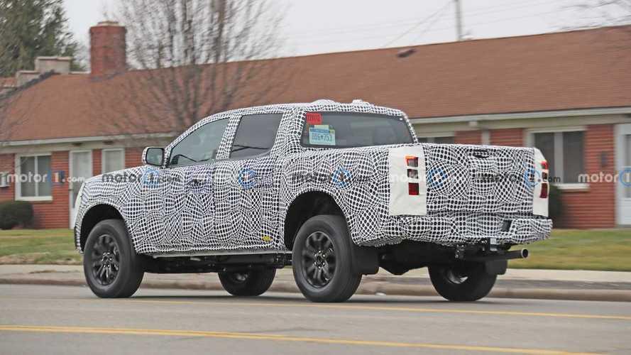 Ford Ranger 2023, fotos espía