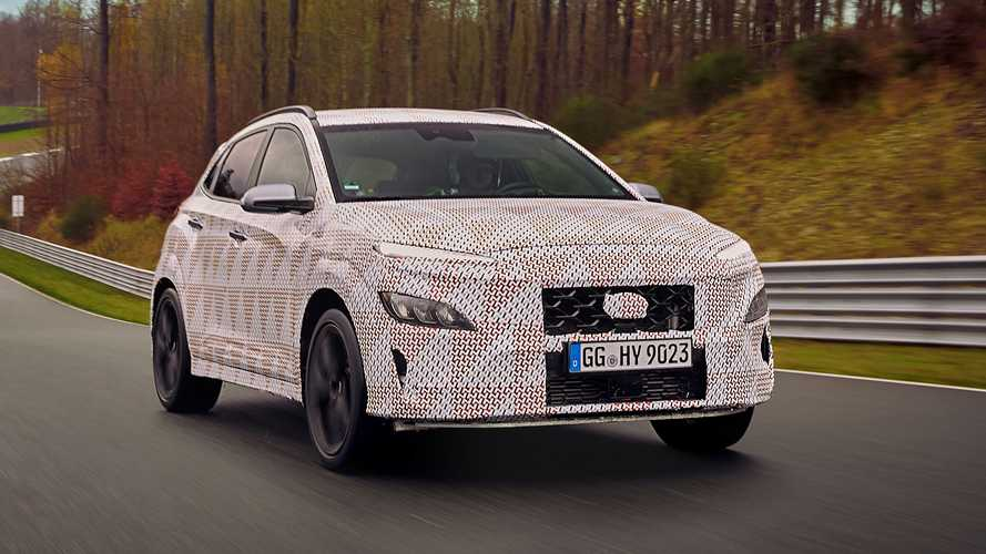 Hyundai Kona N (2021): Official spy photos