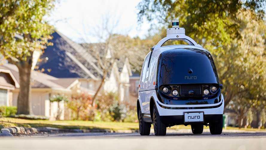 Nuro R2, il furgone autonomo ed elettrico arriva nel 2022
