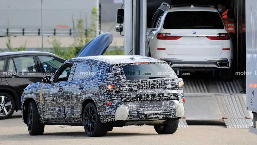 Шпионские фото BMW X8