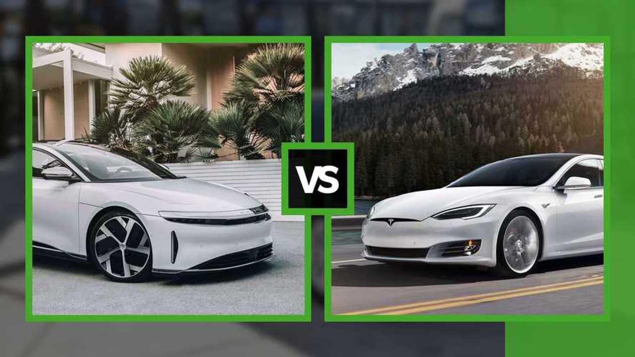 Tesla Model S Plaid vs Lucid Air
