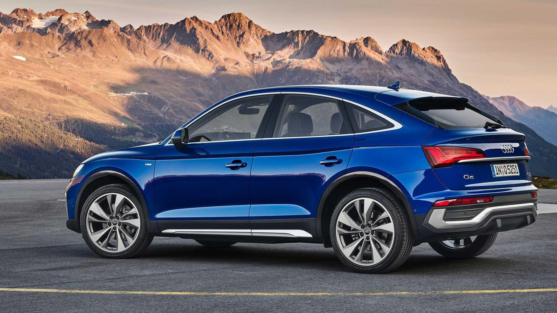 Audi Q5 Sportback: Coupéhafte Version startet im ersten Halbjahr 2021