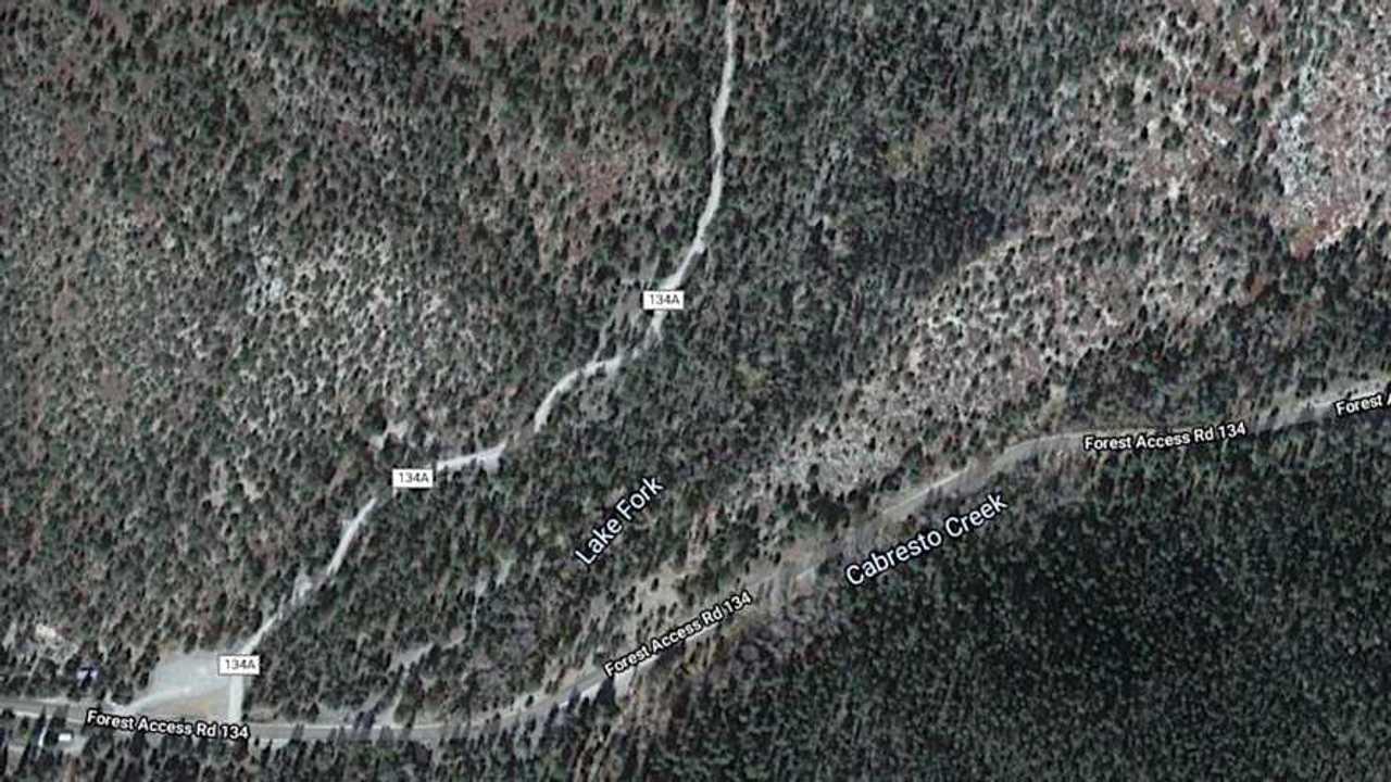 Elephant Rock Motorcycle Trail Entrance