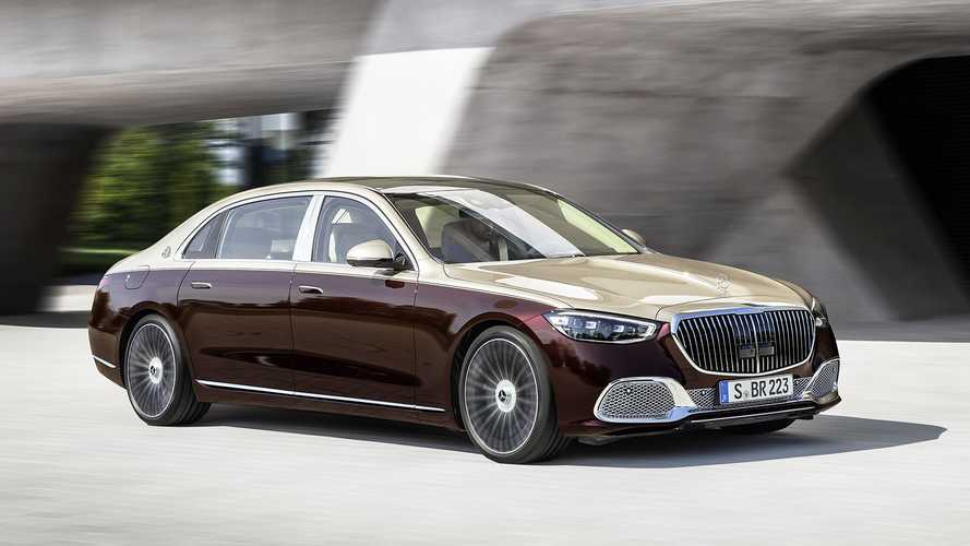Mercedes-Maybach S-класса (2020)