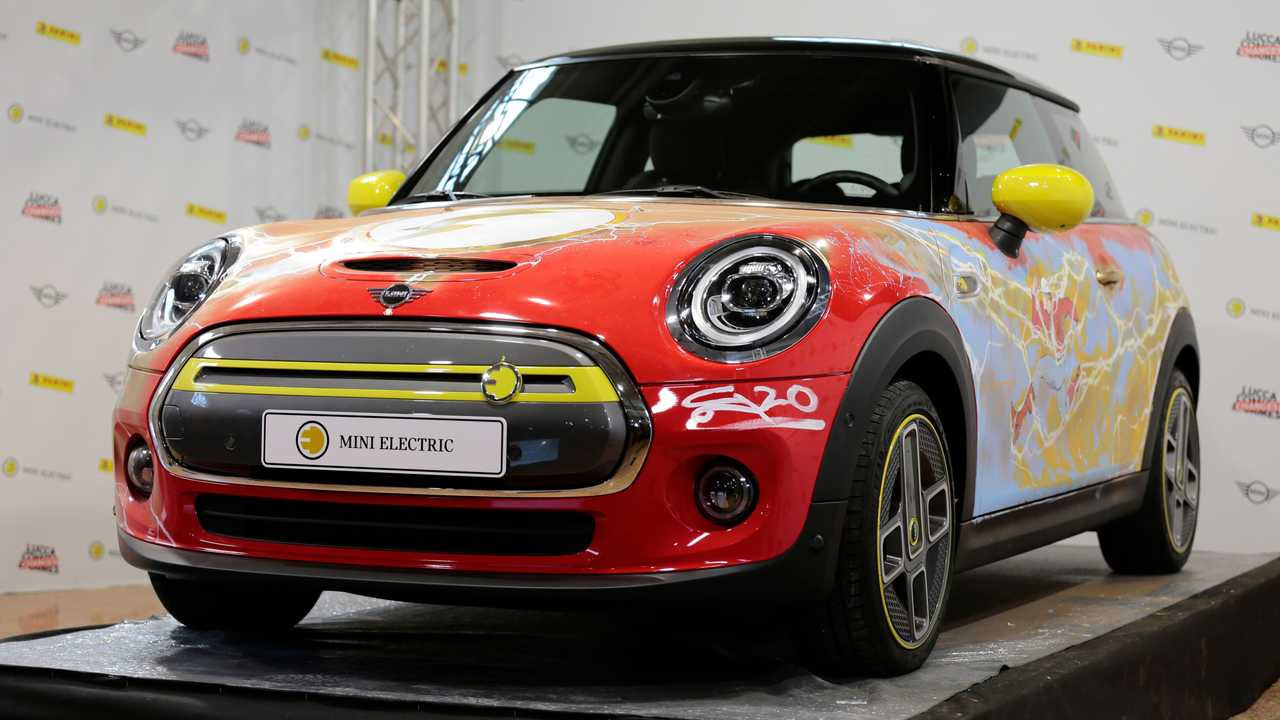 The Flash-Themed Mini Cooper SE