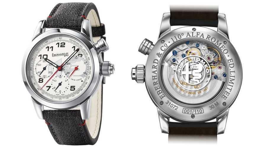 Alfa Romeo, 110 anni di storia in uno speciale orologio da collezione