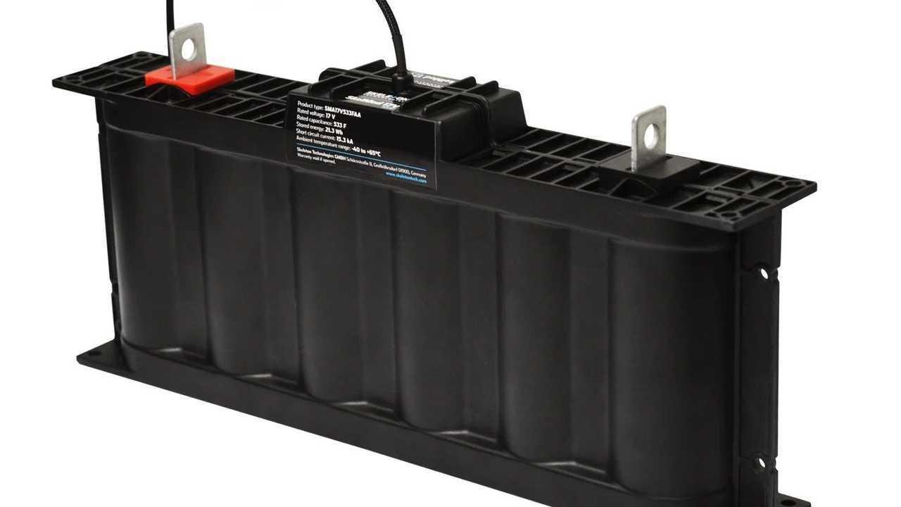 Skeleton Technologies l'ultracondensatore da 21.3 Wh