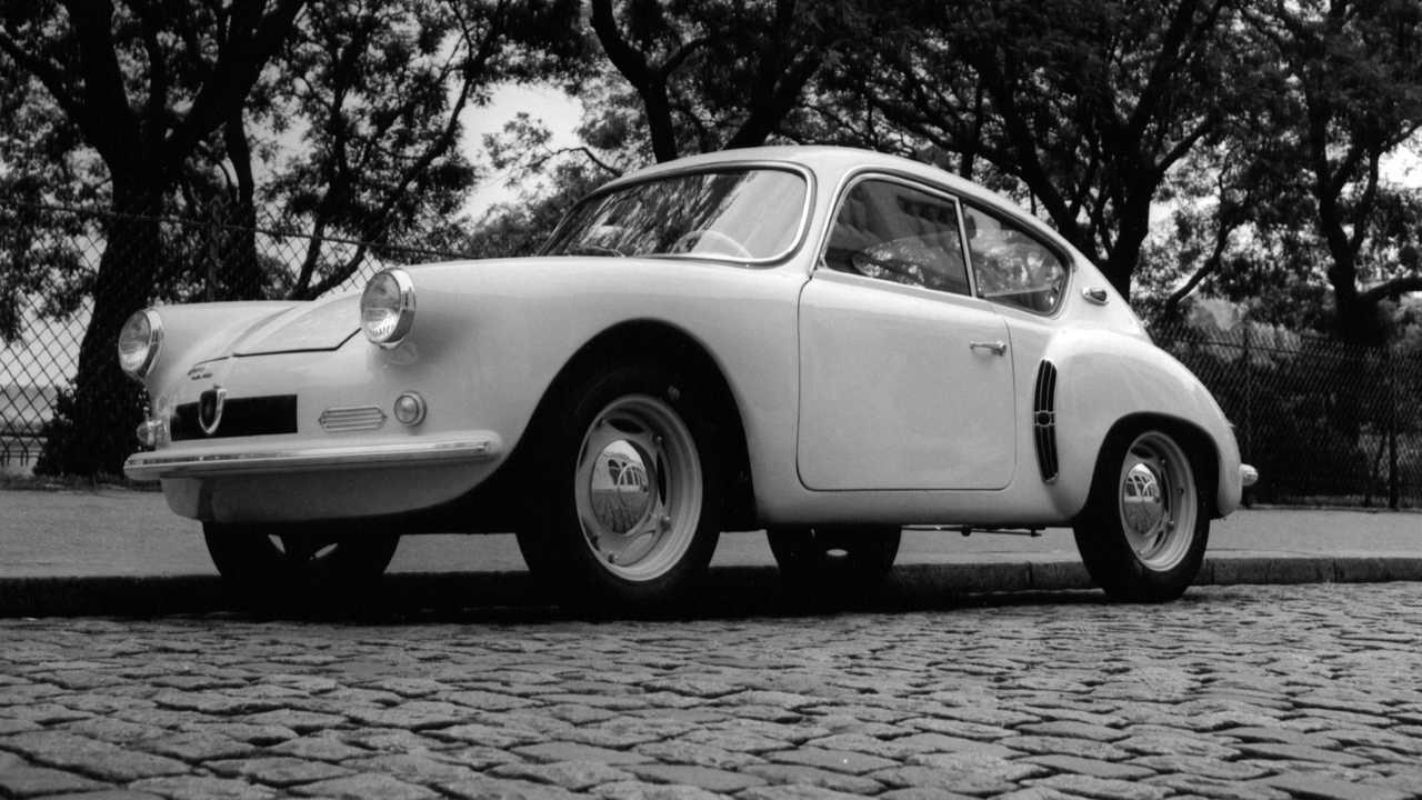 Первая серийная модель Alpine – 1955 год