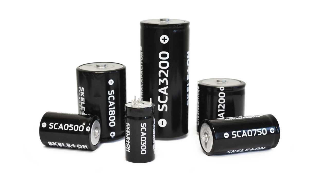 Skeleton Technologies SkelCap Ultracapacitors