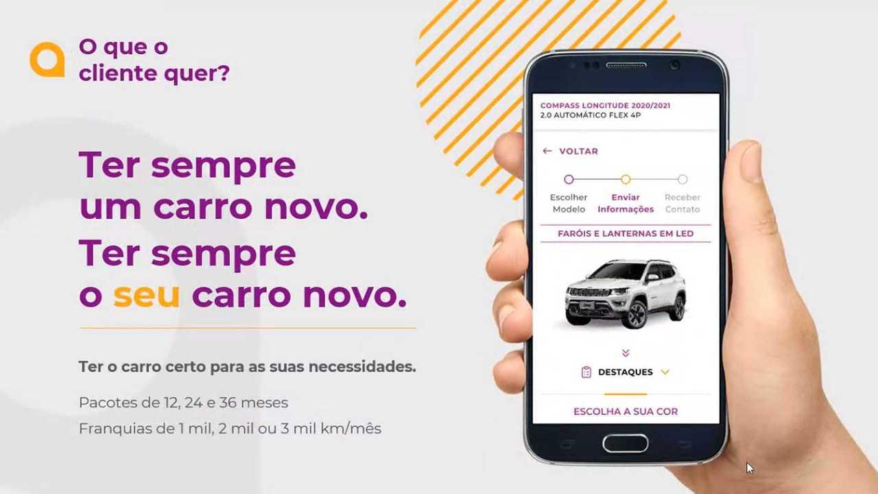 Carro por assinatura: Fiat e Jeep lançam programa Flua! no Brasil