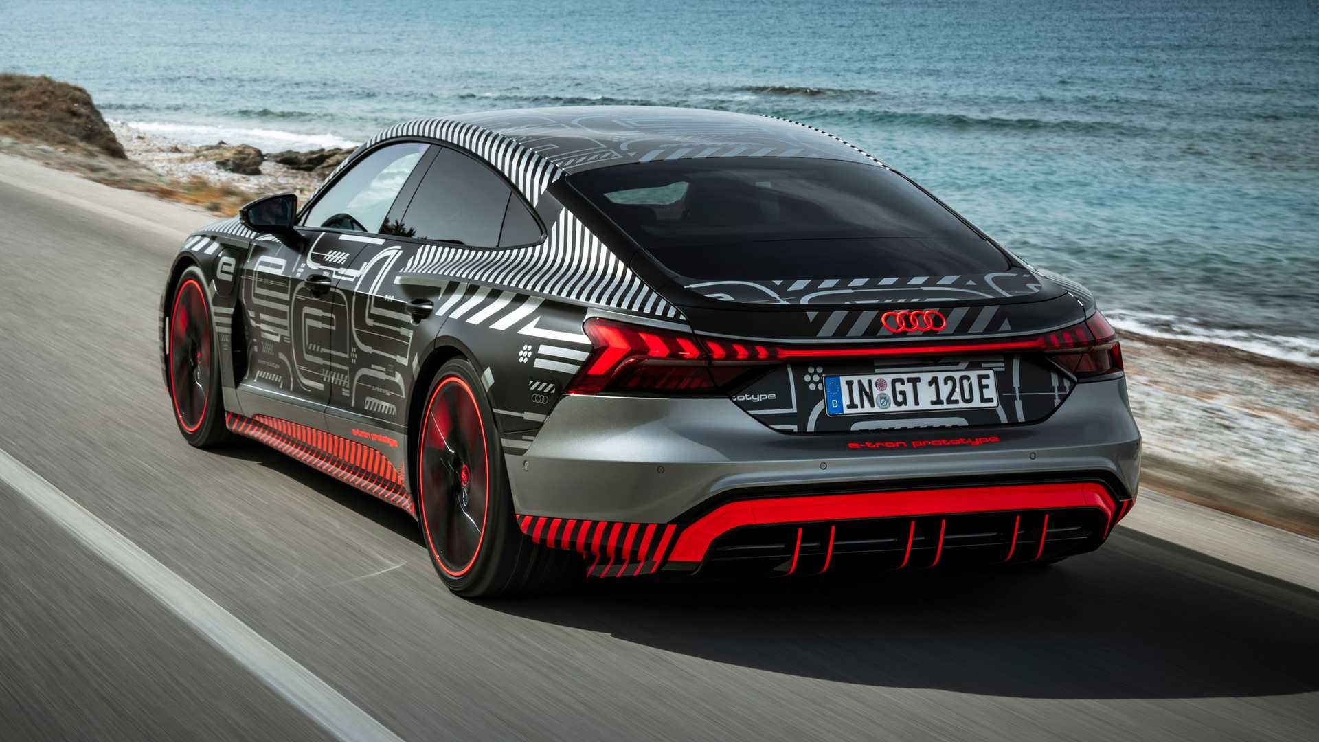 Watch The Audi RS E-Tron GT Hit 60 MPH In 2.88 Seconds