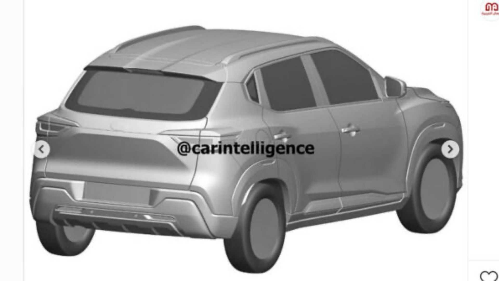 Nissan Magnite Futuro Suv Nacional Tem Visual Definitivo Revelado Em Patentes