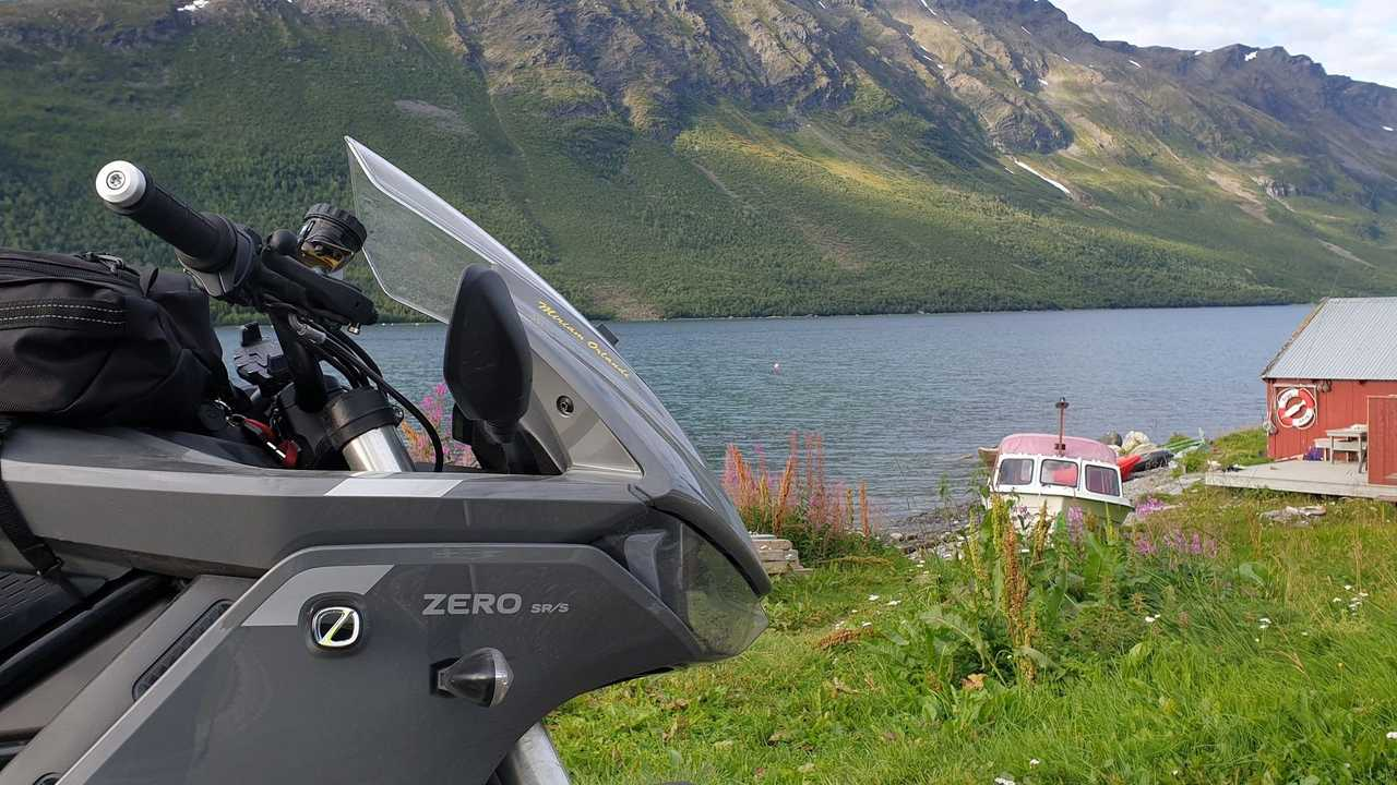 Zero SR/S Miriam Orlandi Cape North, Norway Trip
