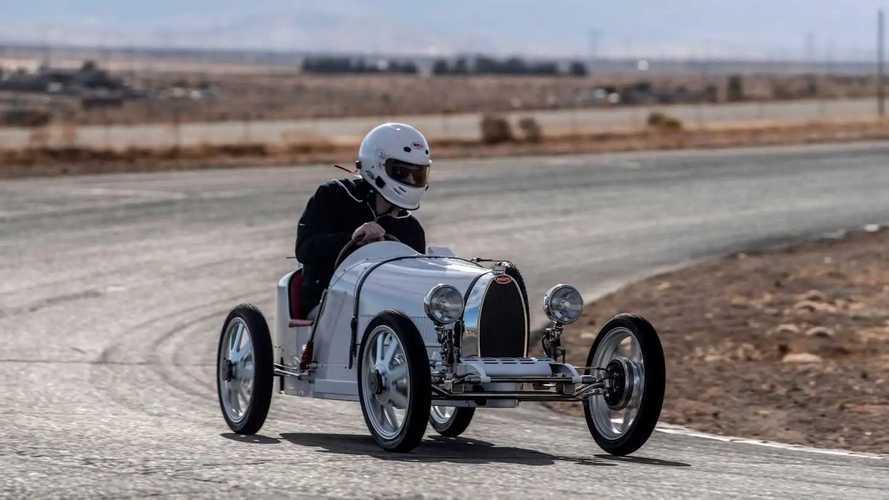 Bugatti Baby II 2021, prueba
