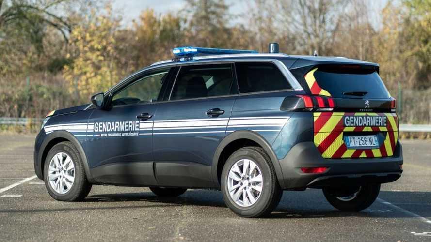 Vidéo - Quand la Gendarmerie fait l'essai de son nouveau 5008