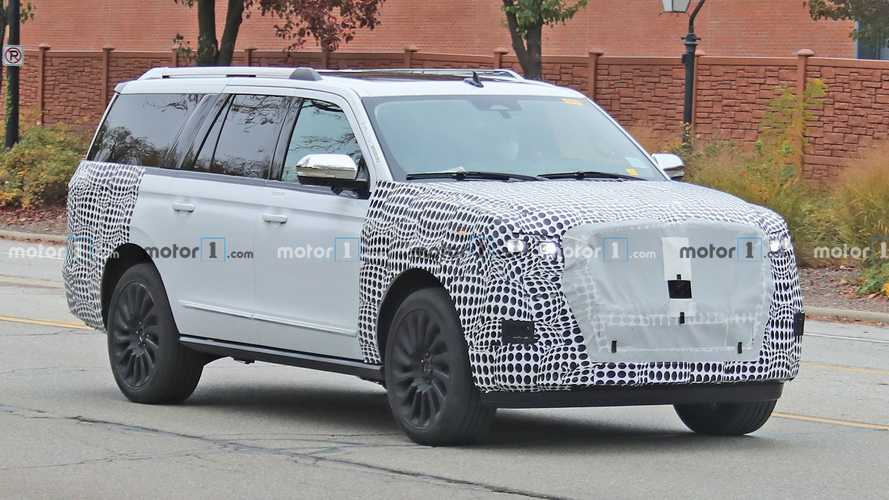 2022 Lincoln Navigator Refresh Spied For The First Time
