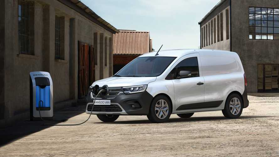 Renault Announces All-New Kangoo, Including EV Version