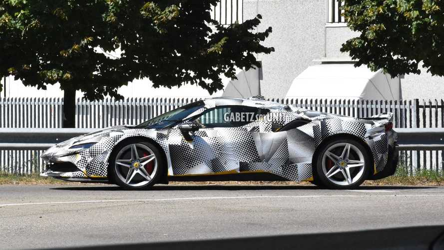 Ferrari SF90 Stradale Spider new spy photos