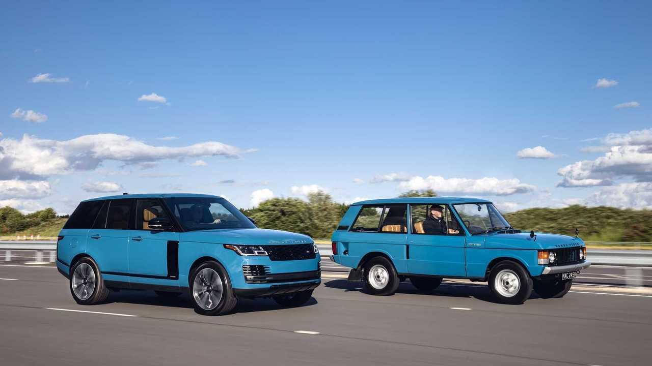 Юбилей года: 50 лет Range Rover