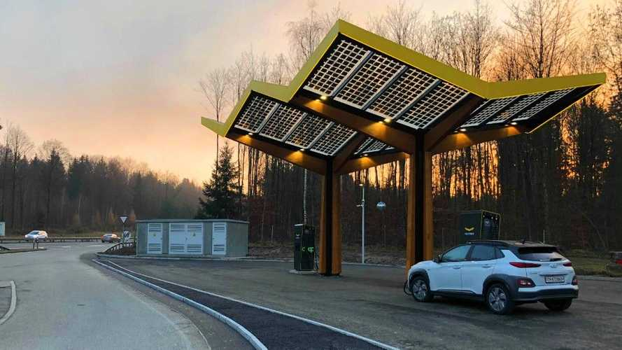 Fastned Opens Its First Fast Charging Station In Switzerland