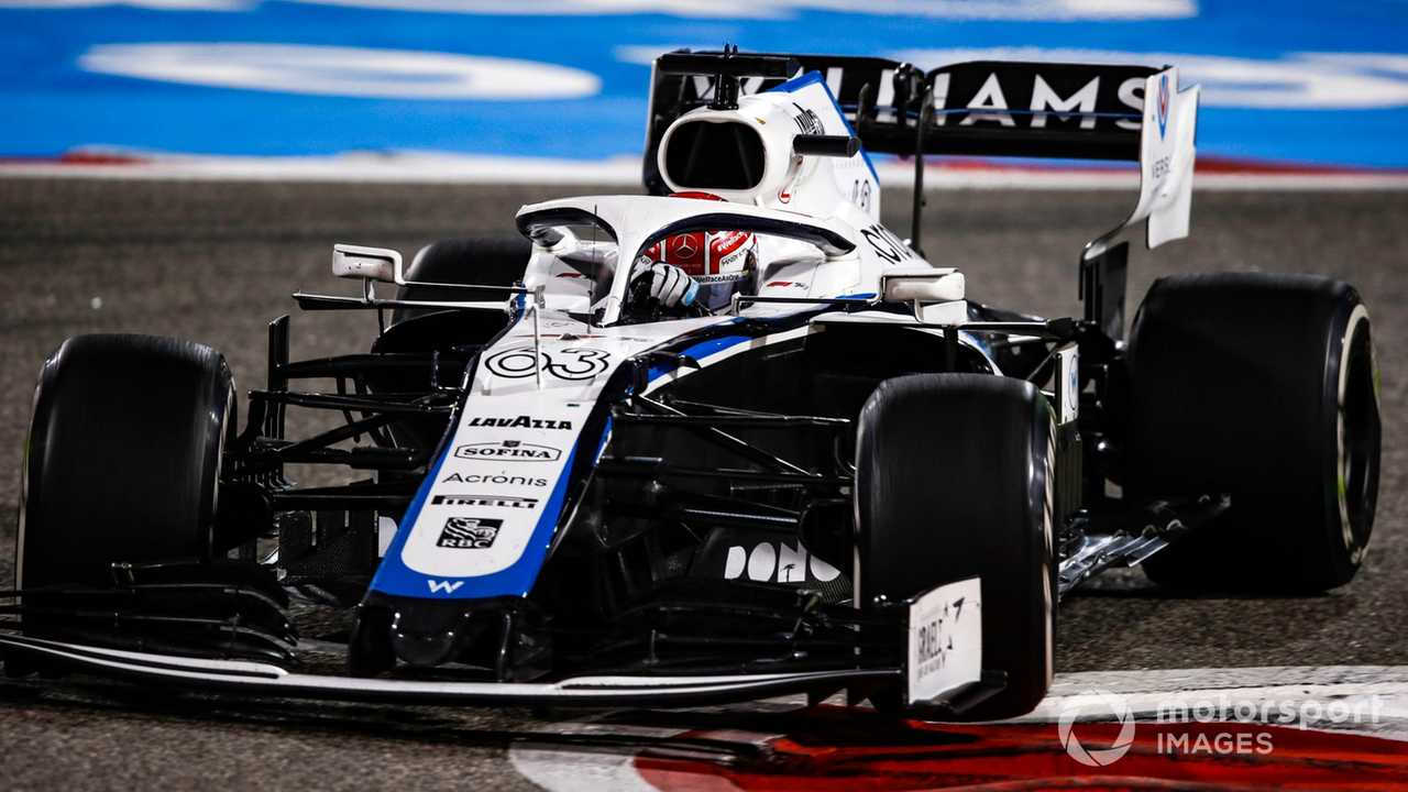 George Russell at Bahrain GP 2020