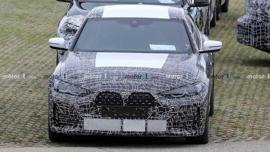 BMW 4 Series Gran Coupe Spy Photos