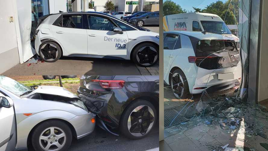 First Reported VW ID.3 Crashes Show How Popular It May Become