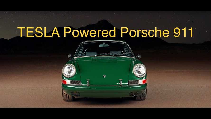 EV West Tesla-Swaps 1968 Porsche 911, Explains The Conversion Process