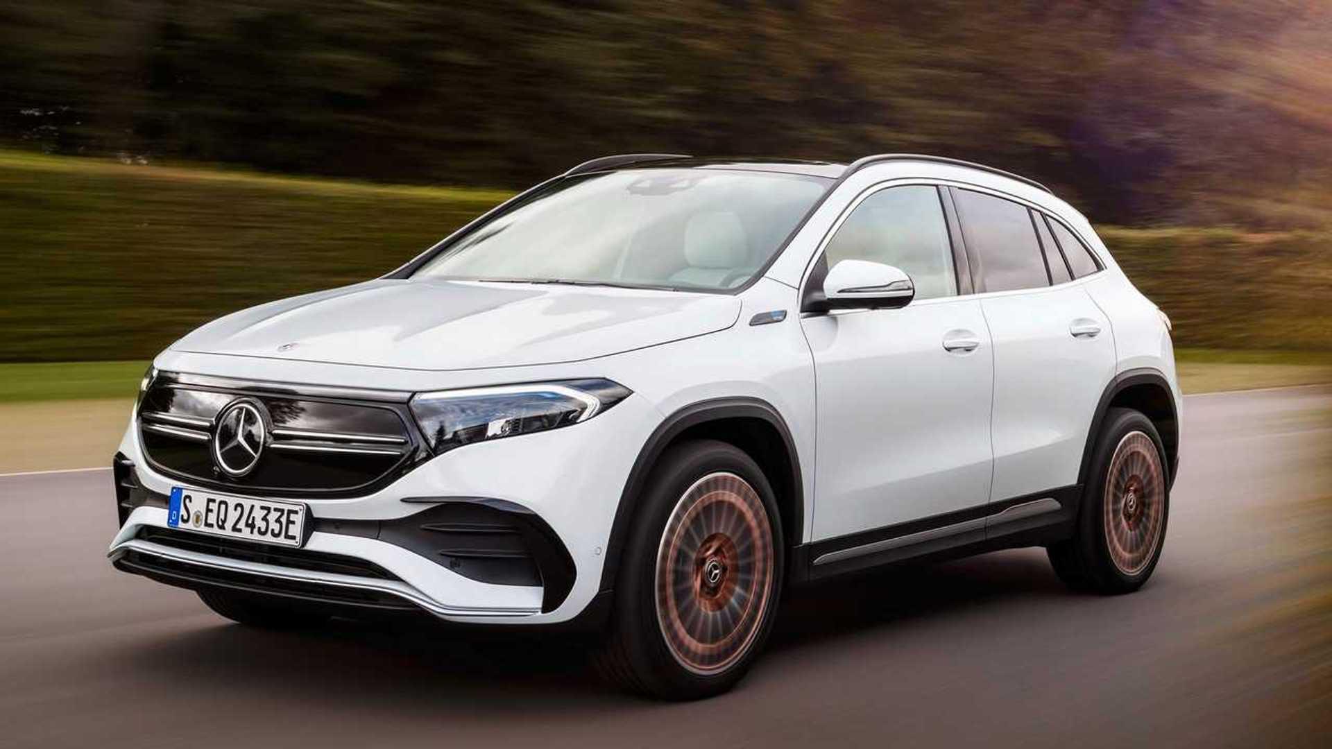 Mercedes-Benz EQA (2021) - L'attaque des clones