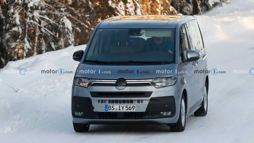 Photos espion Volkswagen T7 Multivan