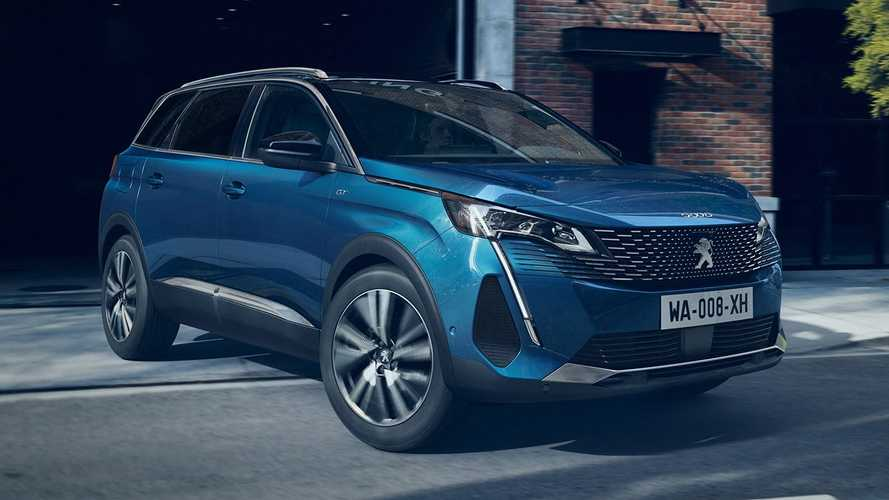 2021 Peugeot 5008 facelift debuts with same updates as the 3008