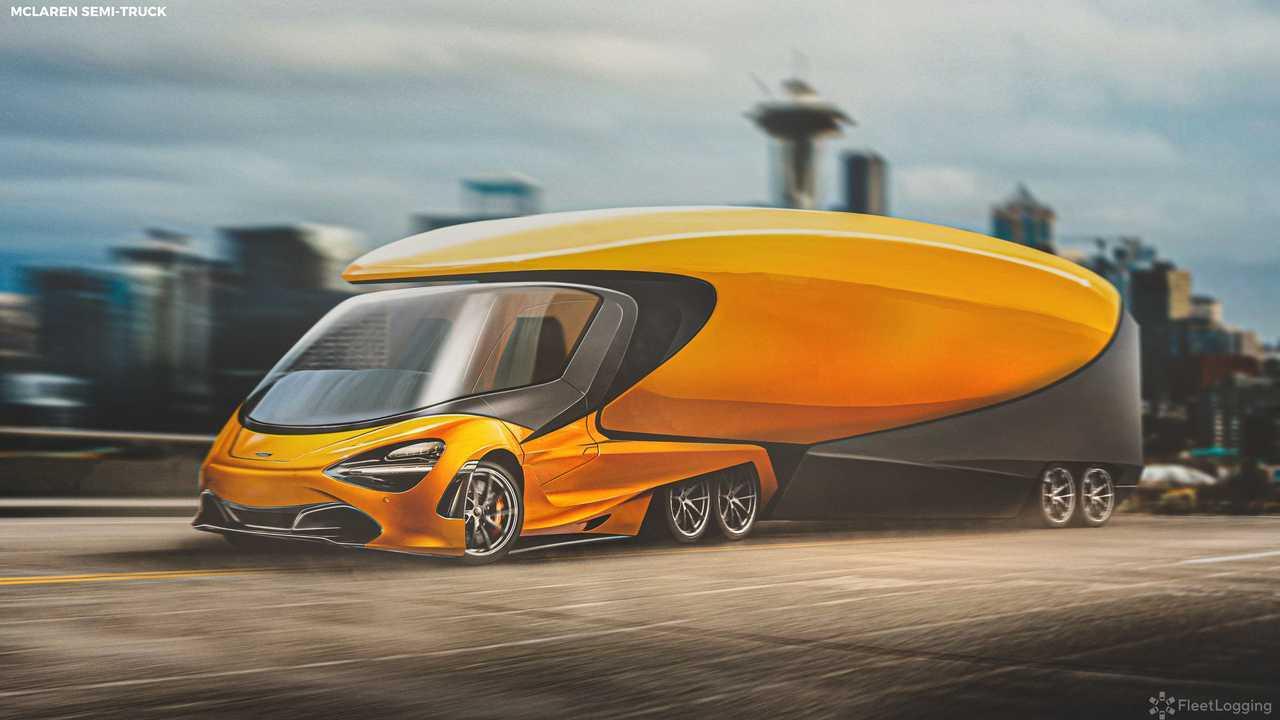 McLaren Supertruck