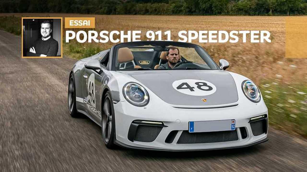 Vignette essai Porsche 911 Speedster