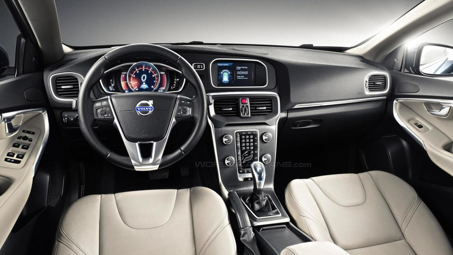 2013 Volvo V40: more images leaked including first interior shots