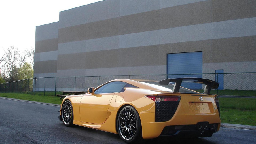 First Lexus LFA with Nurburgring package arrives in Europe