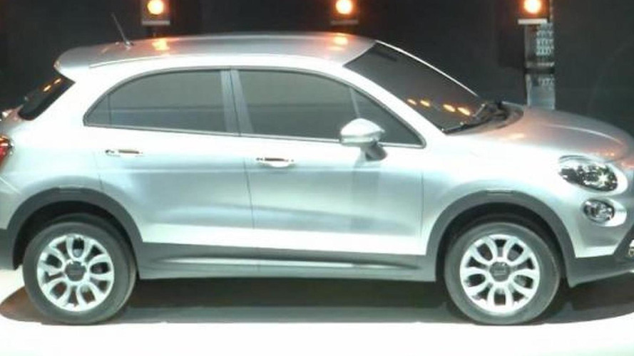 Fiat 500X crossover surprise reveal at press launch, 800, 05.07.2012