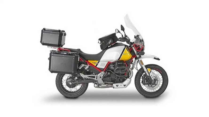 Givi Launches Adventure-Ready Luggage For The Moto Guzzi V85TT