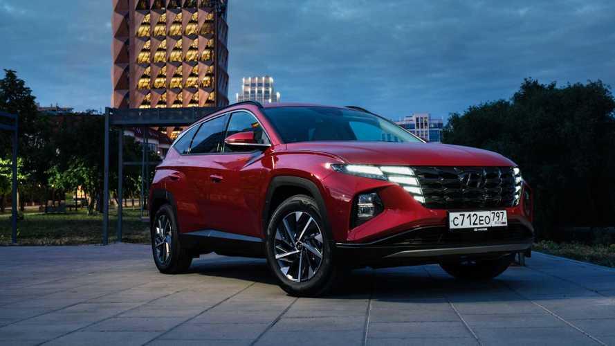 Первый тест Hyundai Tucson в России