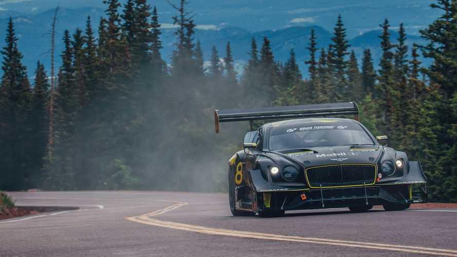 Com'è andata Bentley Continental GT3 a biocarburante alla Pikes Peak?