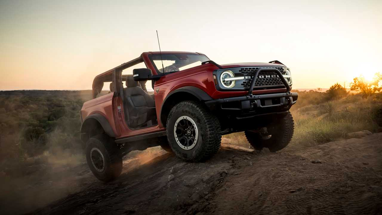 Ford has no plans for a two-door soft top Bronco.