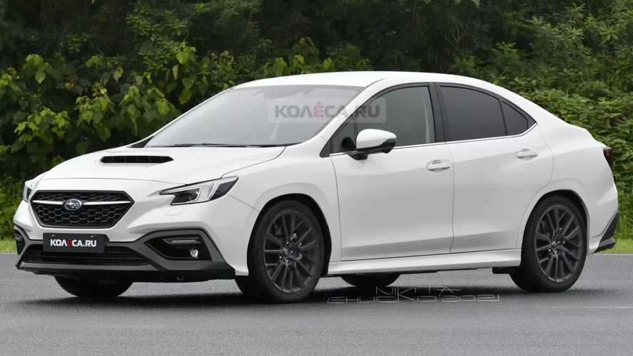 Next-gen Subaru WRX rendered based on latest spy shots